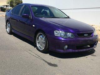 2003 Ford Falcon BA XR6 Purple 4 Speed Sports Automatic Sedan.