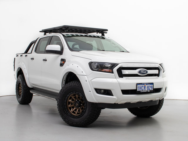 Used Ford Ranger PX MkII XLS 3.2 (4x4), 2015 Ford Ranger PX MkII XLS 3.2 (4x4) White 6 Speed Automatic Double Cab Pick Up