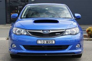 2010 Subaru Impreza G3 MY10 WRX Club Spec 10 AWD Blue 5 Speed Manual Sedan