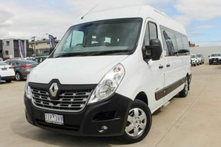 2016 Renault Master X62 Mid Roof LWB AMT White 6 Speed Sports Automatic Single Clutch Bus.