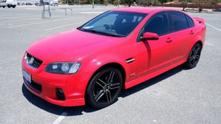 2012 Holden Commodore VE II MY12 SV6 Red 6 Speed Sports Automatic Sedan