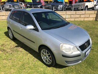 2006 Volkswagen Polo 9N MY2007 Match Silver 4 Speed Automatic Hatchback.