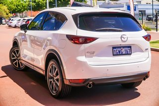 2019 Mazda CX-5 KF4WLA GT SKYACTIV-Drive i-ACTIV AWD White 6 Speed Sports Automatic Wagon.