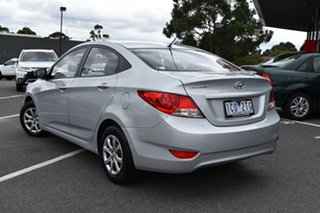 2014 Hyundai Accent RB2 Active Silver 4 Speed Sports Automatic Sedan.