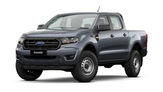 2021 Ford Ranger PX MkIII MY21.25 XL 2.2 Hi-Rider (4x2) Meteor Grey 6 Speed Automatic.