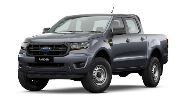 New Ford Ranger PX MkIII 2021.25MY XL Hobart, 2021 Ford Ranger PX MkIII 2021.25MY XL Meteor Grey 6 Speed Manual Double Cab Pick Up