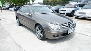 2008 Mercedes-Benz CLK-Class C209 MY08 CLK280 Elegance Gold 7 Speed Automatic Coupe.