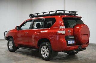 2015 Toyota Landcruiser Prado GDJ150R GXL Red 6 Speed Sports Automatic Wagon.