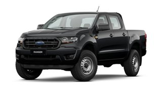 2021 Ford Ranger PX MkIII 2021.25MY XL Black 6 Speed Sports Automatic Double Cab Pick Up