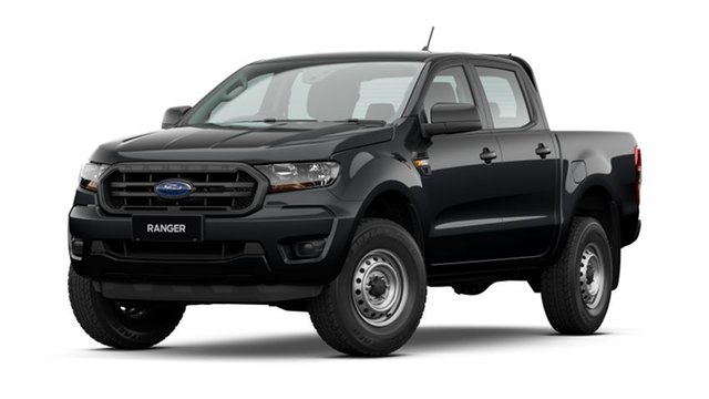 New Ford Ranger PX MkIII 2021.25MY XL West Gosford, 2021 Ford Ranger PX MkIII 2021.25MY XL Shadow Black 6 Speed Sports Automatic Double Cab Pick Up