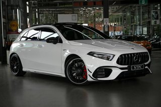 2020 Mercedes-Benz A-Class W177 800+050MY A45 AMG SPEEDSHIFT DCT 4MATIC+ S White 8 Speed.