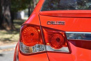 2012 Holden Cruze JH Series II MY12 SRi Red 6 Speed Manual Sedan