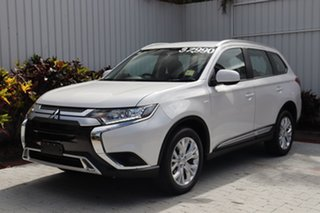 2020 Mitsubishi Outlander ZL MY20 ES AWD Starlight Black 6 Speed Constant Variable Wagon