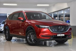 2020 Mazda CX-8 KG2WLA Touring SKYACTIV-Drive FWD Red 6 Speed Sports Automatic Wagon.