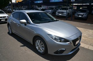2014 Mazda 3 BL Series 2 MY13 Maxx Sport Silver 6 Speed Manual Hatchback.
