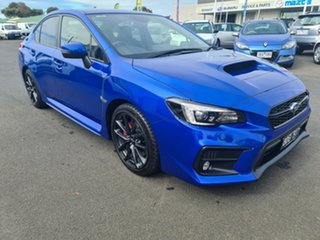 2018 Subaru WRX V1 MY19 Premium AWD Blue 6 Speed Manual Sedan.