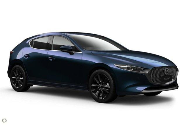 New Mazda 3 BP2HHA X20 SKYACTIV-Drive Astina Waitara, 2020 Mazda 3 BP2HHA X20 SKYACTIV-Drive Astina Blue 6 Speed Sports Automatic Hatchback