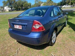 2006 Ford Focus LS LX Blue 4 Speed Sports Automatic Sedan