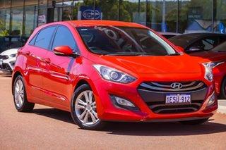 2014 Hyundai i30 GD2 MY14 SE Red 6 Speed Sports Automatic Hatchback.