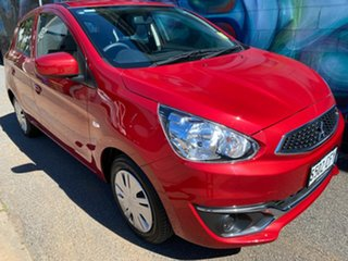2019 Mitsubishi Mirage LA MY20 ES Red Planet 1 Speed Constant Variable Hatchback