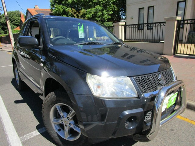 Used Suzuki Grand Vitara JT Trekker Glenelg, 2008 Suzuki Grand Vitara JT Trekker Black 5 Speed Manual Wagon