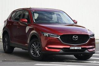 2019 Mazda CX-5 KF2W7A Maxx SKYACTIV-Drive FWD Sport Red 6 Speed Sports Automatic Wagon.