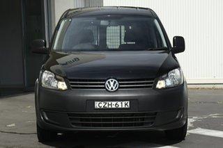 2015 Volkswagen Caddy 2KN MY15 TDI250 BlueMOTION Maxi DSG Black 7 Speed Sports Automatic Dual Clutch