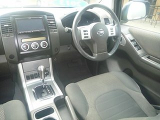 2013 Nissan Navara D40 S5 MY12 ST-X Blackline Black 7 Speed Sports Automatic Utility