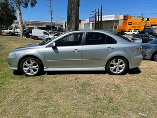 2004 Mazda 6 GG1031 MY04 Luxury Sports Silver 4 Speed Sports Automatic Hatchback.