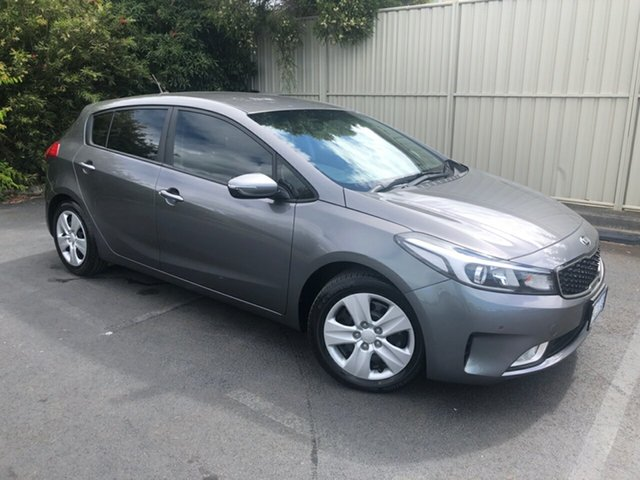 Used Kia Cerato YD MY17 S Devonport, 2016 Kia Cerato YD MY17 S Grey 6 Speed Sports Automatic Hatchback