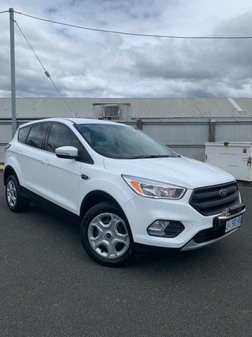 Used Ford Escape ZG Ambiente Moonah, 2017 Ford Escape ZG Ambiente White 6 Speed Sports Automatic SUV