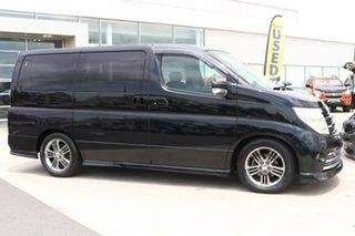 2007 Nissan Elgrand Black.