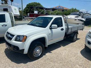 2010 Holden Colorado RC MY10 LX (4x2) White 4 Speed Automatic Cab Chassis.