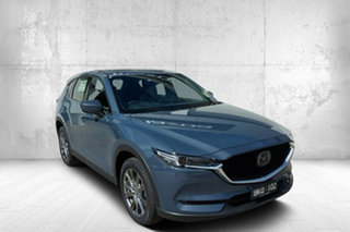 2020 Mazda CX-5 KF4WLA Akera SKYACTIV-Drive i-ACTIV AWD Grey 6 Speed Sports Automatic Wagon.