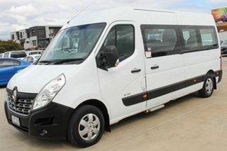 2016 Renault Master X62 Mid Roof LWB AMT White 6 Speed Sports Automatic Single Clutch Bus