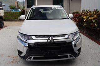 2020 Mitsubishi Outlander ZL MY20 ES AWD Starlight Black 6 Speed Constant Variable Wagon.
