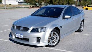 2008 Holden Commodore VE MY09 SV6 Silver 6 Speed Manual Sedan.