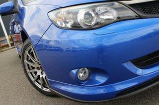 2010 Subaru Impreza G3 MY10 WRX Club Spec 10 AWD Blue 5 Speed Manual Sedan.