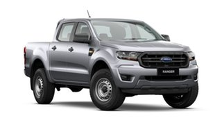 2021 Ford Ranger PX MkIII 2021.75MY XL Hi-Rider Silver 6 Speed Sports Automatic Double Cab Pick Up