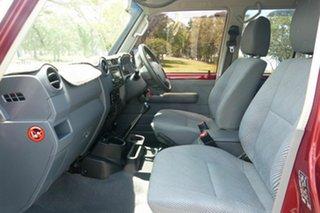2014 Toyota Landcruiser VDJ76R MY13 GXL Red 5 Speed Manual Wagon