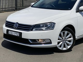 2013 Volkswagen Passat Type 3C MY14 118TSI DSG White 7 Speed Sports Automatic Dual Clutch Wagon