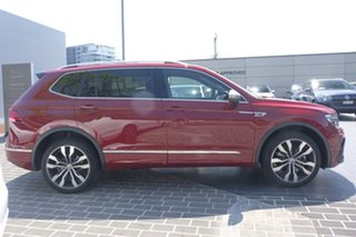 2020 Volkswagen Tiguan 5N MY20 162TSI Highline DSG 4MOTION Allspace Ruby Red 7 Speed.