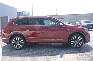 2020 Volkswagen Tiguan 5N MY20 162TSI Highline DSG 4MOTION Allspace Ruby Red 7 Speed.