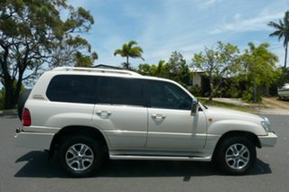 2007 Lexus LX UZJ100R MY06 LX470 White 5 Speed Automatic Wagon.