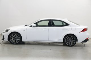 2017 Lexus IS GSE31R IS350 F Sport White 8 Speed Sports Automatic Sedan.