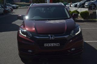 2016 Honda HR-V MY16 VTi-S Red 1 Speed Constant Variable Hatchback.