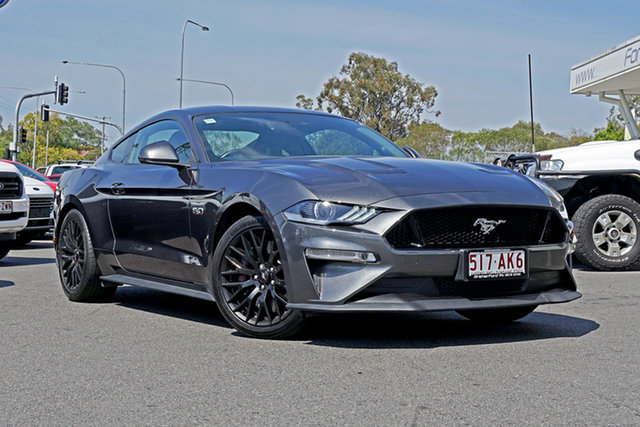 Used Ford Mustang FN 2018MY GT Fastback SelectShift Ebbw Vale, 2018 Ford Mustang FN 2018MY GT Fastback SelectShift Magnetic 10 Speed Sports Automatic Fastback