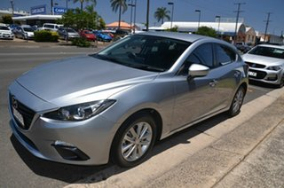 2014 Mazda 3 BL Series 2 MY13 Maxx Sport Silver 6 Speed Manual Hatchback