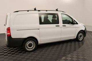 2017 Mercedes-Benz Vito 447 119BlueTEC Crew Cab MWB 7G-Tronic + White 7 speed Automatic Van