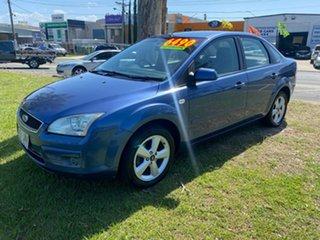 2006 Ford Focus LS LX Blue 4 Speed Sports Automatic Sedan.